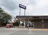 A US Bank branch downtown Cedar Falls, Iowa on Tuesday, July 10, 2012.