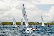 World Sailing Emerging Nations Program - Boca Chica Sailing Club, Santo Domingo 08/19/2017 - DAY 2 - Participants during the regatta