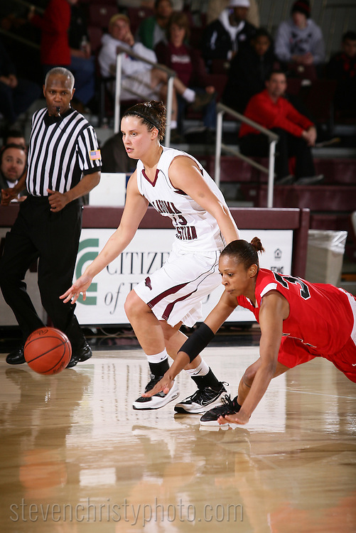 February 11, 2010: The Mid-America Christian University Evangels play against the Oklahoma Christian University Lady Eagles at the Eagles Nest on the campus of Oklahoma Christian University.