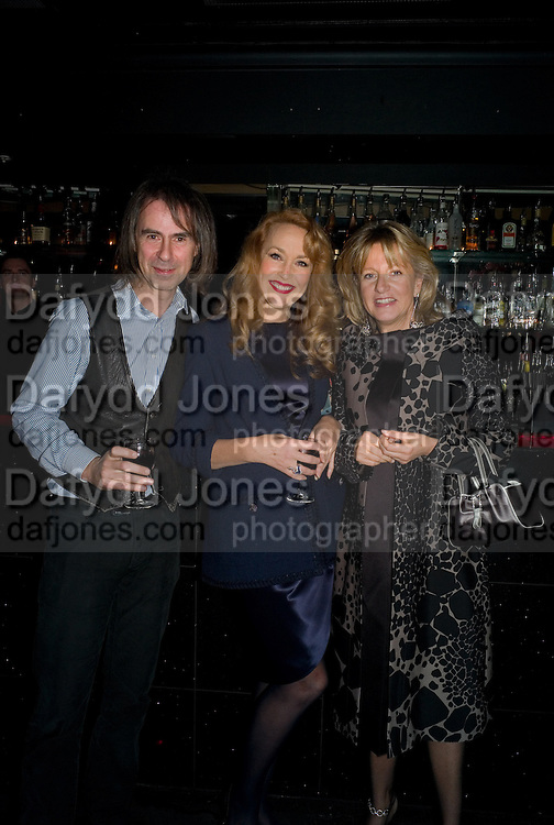 IVOR BRAKA; JERRY HALL; PRINCESS CHANTAL OF HANOVER, Cloak and Dagger, - Amanda Eliasch - book launch - Entertainment by Miss Polly Rae and her Hurly Burly girls. <br />Soho Revue Bar, 11-12 Walkers Court, London *** Local Caption *** -DO NOT ARCHIVE-© Copyright Photograph by Dafydd Jones. 248 Clapham Rd. London SW9 0PZ. Tel 0207 820 0771. www.dafjones.com.