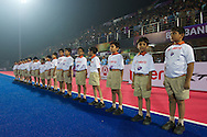 04 GER vs IND : children before the match