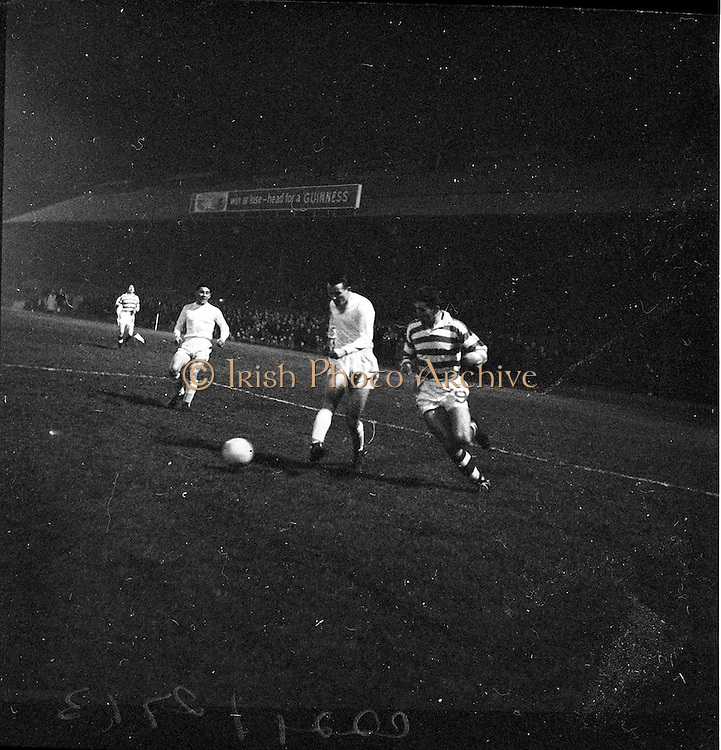 22/02/1963.02/22/1963.22 February 1963.Celtic vs Morton at Dalymount park, Dublin. Special for Scottish Daily Express.