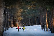 Winter snowboard lifestyle.