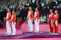 Zhang.N and Zhao.YL, China, Mixed Doubles Gold, Olympic Badminton London Wembley 2012