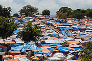 Tents for earthquake victims fill Petionville Golf Club on Friday, May 7, 2010, on the outskirts of Port-au-Prince, Haiti. Approximately 40,000 people moved to the camp following the January 2010 quake.
