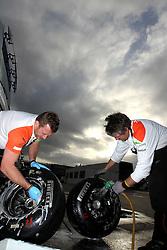 09.03.2011, Circuit de Catalunya, Barcelona, ESP, Formel 1 Test 4 2011,  im Bild Pirelli Hard tyres.   EXPA Pictures © 2011, PhotoCredit: EXPA/ nph/  Poleposition.at       ***** only AUT, SLO ******
