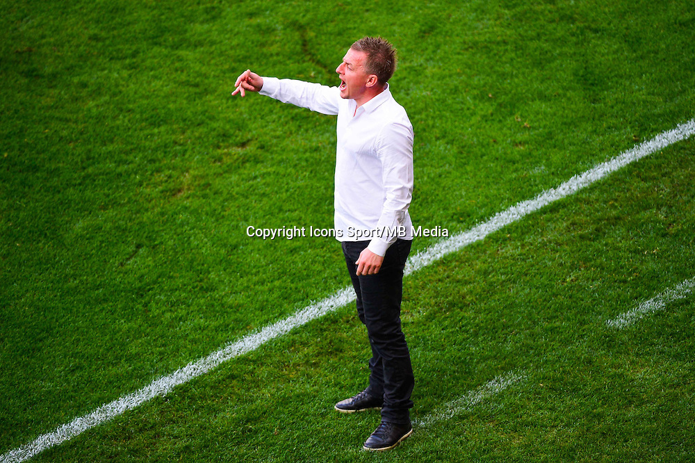 Olivier GUEGAN  - 12.04.2015 - Reims / Nice - 32eme journee de Ligue 1 <br />Photo : Dave Winter / Icon Sport