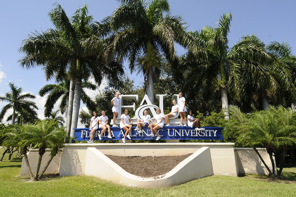 2010-11 FAU Women's Tennis Team Photo