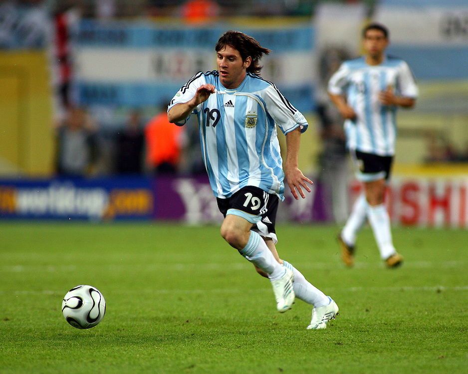 Lionel Messi 2006 World Cup