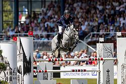 HANLEY Cameron (IRL), Quirex<br /> Aachen - CHIO 2018<br /> Rolex Grand Prix 1. Umlauf<br /> Der Grosse Preis von Aachen<br /> 22. Juli 2018<br /> © www.sportfotos-lafrentz.de/Stefan Lafrentz