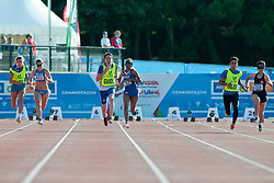 DEDAj Arjola, VIDOT Elvina, YILMAZER Oznur, 2014 IPC European Athletics Championships, Swansea, Wales, United Kingdom