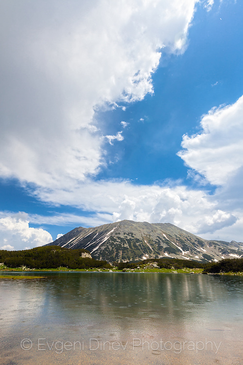 Pirin Mountain at the end of Juny