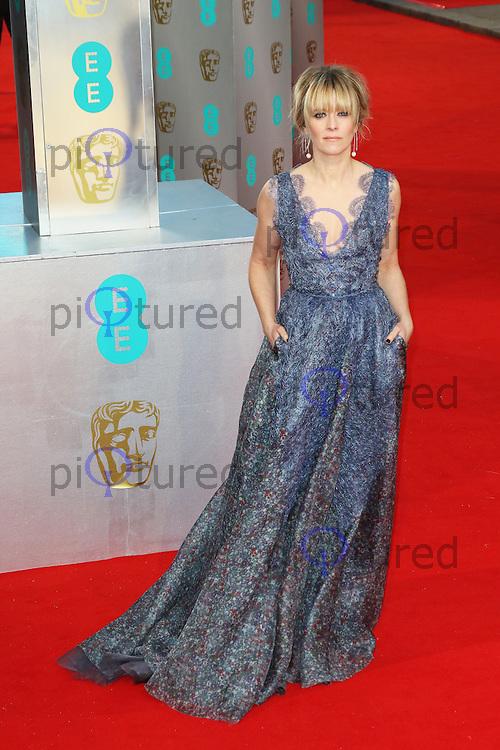 Edith Bowman, EE British Academy Film Awards (BAFTAs), Royal Opera House Covent Garden, London UK, 08 February 2015, Photo by Richard Goldschmidt
