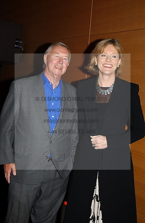 SIR TERENCE & LADY CONRAN at the launch party for 'The London Look - Fashion From Street to Catwalk' held at the Museum of London, London Wall, Londom EC2 on 28th October 2004<br />