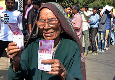 India: Ban of old currency Indian notes, 12 Nov. 2016