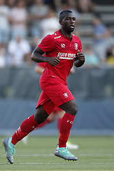 Ulrich Bapoh of FC Twente during the Pre-season Friendly match between VVV-Venlo and FC Twente at Seacon stadium De Koel on July 27, 2018 in Venlo, The Netherlands