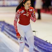 NLD/Heerenveen/20130112 - ISU Europees Kampioenschap Allround schaatsen 2013 dag 2, 500 meter dames, Yekaterina Shikhova