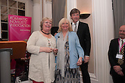 KATIE FFORDE; JUDY FINNIGAN; RICHARD MADELEY, Romantic Novelists Association The RoNas Awards - RICHARD MADELEY & JUDY FINNIGAN - ballroom of the RAF Club, 128 Piccadilly, London. 26 February 2013