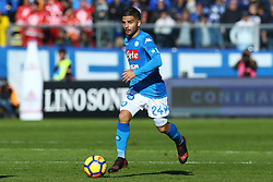 January 21, 2018 - Bergamo, Italy - Lorenzo Insigne of Napoli  during the Italian Serie A football match Atalanta Vs Napoli on January 21, 2018 at the 'Atleti Azzurri d'Italia Stadium' in Bergamo. (Credit Image: © Matteo Ciambelli/NurPhoto via ZUMA Press)