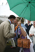 TANIA BRYER AND PRINCE MICHAEL OF KENT, Cartier Style et Luxe lunch. Goodwood.  24 June 2007.  -DO NOT ARCHIVE-© Copyright Photograph by Dafydd Jones. 248 Clapham Rd. London SW9 0PZ. Tel 0207 820 0771. www.dafjones.com.