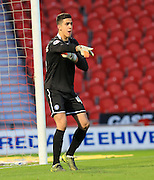 Joel Castro Pereira during the Sky Bet League 1 match between Doncaster Rovers and Rochdale at the Keepmoat Stadium, Doncaster, England on 21 November 2015. Photo by Daniel Youngs.