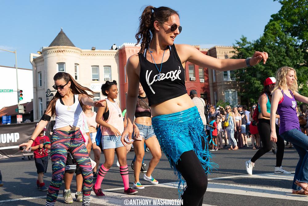 Funk Parade 2018 heads down U St. in Washington, DC on Saturday, May 12. 2018.