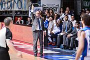 DESCRIZIONE : Cucciago Lega A 2014-15 Vitasnella Cantù Umana Venezia<br /> GIOCATORE : Sacripanti Stefano<br /> CATEGORIA : Allenatore Coach Mani <br /> SQUADRA : Vitasnella Cantù<br /> EVENTO : Campionato Lega A 2014-2015<br /> GARA : Vitasnella Cantù Umana Venezia<br /> DATA : 23/05/2015<br /> SPORT : Pallacanestro<br /> AUTORE : Agenzia Ciamillo-Castoria/M.Ozbot<br /> Galleria : Lega Basket A 2014-2015 <br /> Fotonotizia: Cucciago Lega A 2014-15 Vitasnella Cantù Umana Venezia