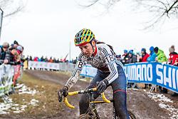 Nikki Harris (GBR), Women Elite, Cyclo-cross World Championships Tabor, Czech Republic, 31 January 2015, Photo by Pim Nijland / PelotonPhotos.com