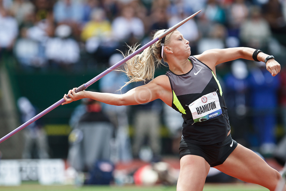 Olympic Trials Eugene 2012: women's Javelin, Hamilton