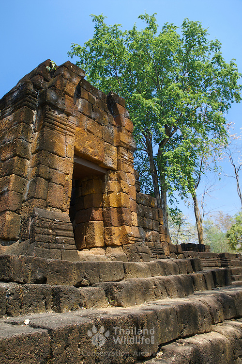 Southern entrance to the Muang Sing historical park in the Sai Yok district, Kanchanaburi province, Thailand