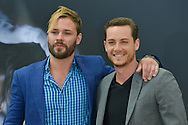 "Flueger Patrick and Soffer Jesse Lee from ""Chicago PD"" poses at the photocall during the 55th Festival TV in Monte-Carlo on June 15, 2015 in Monte-Carlo, Monaco."