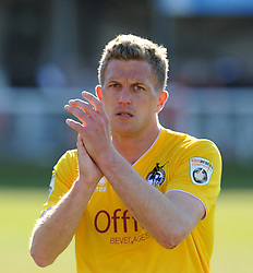 Bristol Rovers' Lee Mansell - Photo mandatory by-line: Neil Brookman/JMP - Mobile: 07966 386802 - 18/04/2015 - SPORT - Football - Dover - Crabble Athletic Ground - Dover Athletic v Bristol Rovers - Vanarama Football Conference
