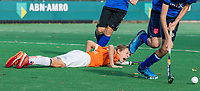 BLOEMENDAAL - Tobias Bovelander (Bldaal) tijdens de  competitiewedstrijd hockey jongens B , Bloemendaal JB1-Breda JB1 (3-2)  , COPYRIGHT KOEN SUYK