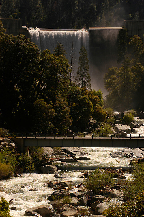 McCay's Dam on the north fork of the Stanislaus River, Sierra Nevada mountains, California.