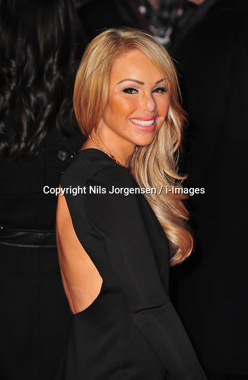 Katie Piper during the Flight UK film premiere, Empire Leicester Square, London, United Kingdom, January 17, 2013. Photo by Nils Jorgensen / i-Images..