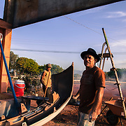 """Osiris, called also """"O Maradona"""" by his Brazilian friends. A mechanic from Parà state in Brazil. Separated. His sons and wife live in Manaus. He tried to work many times in different places of Brazil but he menaged to open his own business in Lethem, Guyana. He has been living in Guyana for the past 4 years"""