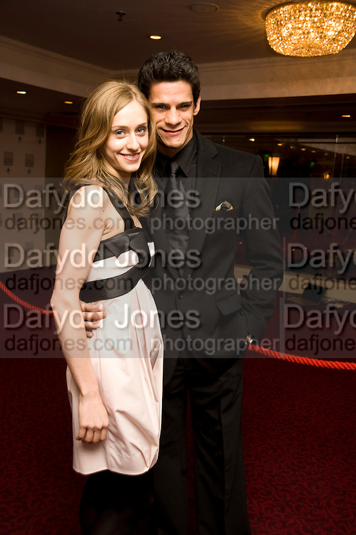 Thiago Soares and Marianella Nunez, The Laurence Olivier Awards, The Grosvenor House Hotel. Park Lane. London. 8 March 2009 *** Local Caption *** -DO NOT ARCHIVE -Copyright Photograph by Dafydd Jones. 248 Clapham Rd. London SW9 0PZ. Tel 0207 820 0771. www.dafjones.com<br /> Thiago Soares and Marianella Nunez, The Laurence Olivier Awards, The Grosvenor House Hotel. Park Lane. London. 8 March 2009