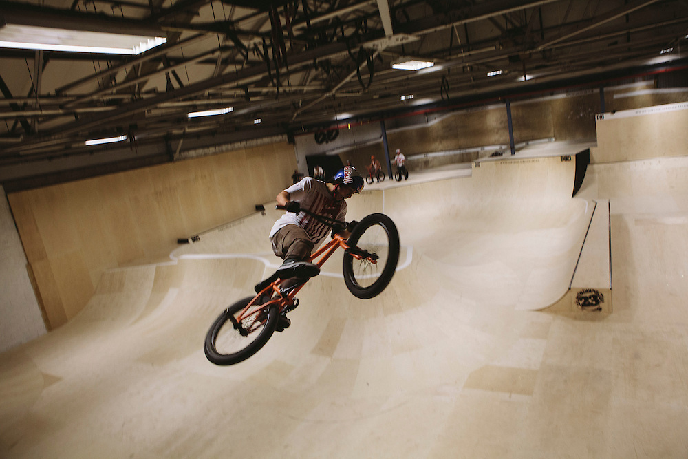 Kriss Kyle rides the bowl in Unit 23.