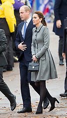 Duke and Duchess of Cambridge- Leicester 28-11-18