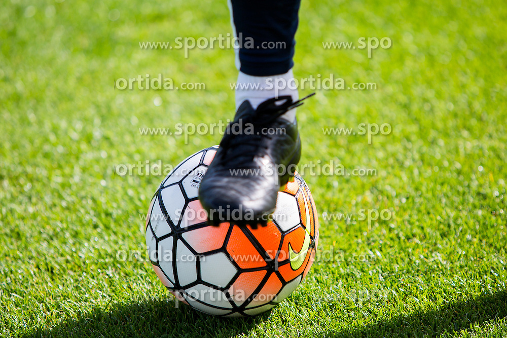 Football ball during practice session of Slovenian Football Team before friendly match against Turkey, on June 2, 2016 in Football centre Brdo pri Kranju, Slovenia. Photo by Ziga Zupan / Sportida