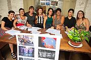 SANTIAGO MAZZAROVICH /URUGUAY / MONTEVIDEO / Conferencia de prensa de la Coordinadora de Feminismos, de cara a la movilizaci&oacute;n del 8 de marzo.<br /> <br /> En la foto: Conferencia de prensa de la Coordinadora de Feminismos, en el SES. Foto: Santiago Mazzarovich / adhocFOTOS