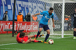 September 28, 2017 - Saint-Petersburg - Of The Russian Federation. Saint-Petersburg. Zenit-arena. Arena Saint-Petersburg. Match Of The UEFA Europa League. Zenit beat real Sociedad with the score 3:1 in the match of UEFA Europa League. Player..Micah Mevla. (Credit Image: © Russian Look via ZUMA Wire)