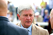 Trainer of SIGNORA CABELLO John Quinn before the The Listed Langleys Solicitors British EBF Marygate Filles Stakes over 5f (£50,000)at the York Dante Meeting at York Racecourse, York, United Kingdom on 18 May 2018. Picture by Mick Atkins.