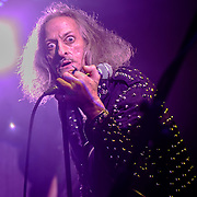 WASHINGTON, DC - October 3rd, 2015 - Bobby Liebling, lead singer of Pentagram, performs at the Rock N Roll Hotel in Washington, D.C. (Photo by Kyle Gustafson / For The Washington Post)