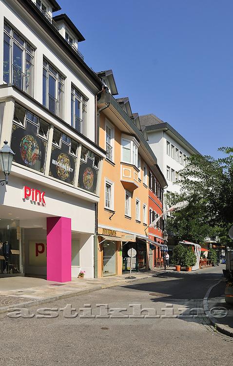 Pink on street