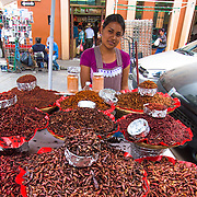 Benito Juarez market or also known as El Mercado de los insectos (insects market) is that place where you can challenge yourself to eat some of the variety of bugs that are part of the Oaxacan culture.
