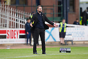 14th September 2019; Dens Park, Dundee, Scotland; Scottish Championship, Dundee Football Club versus Alloa Athletic; Dundee manager James McPake