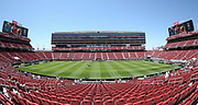 Inside view of the Levi's Stadium during the AON Tour 2017 match between Real Madrid and Manchester United at the Levi's Stadium, Santa Clara, USA on 23 July 2017.
