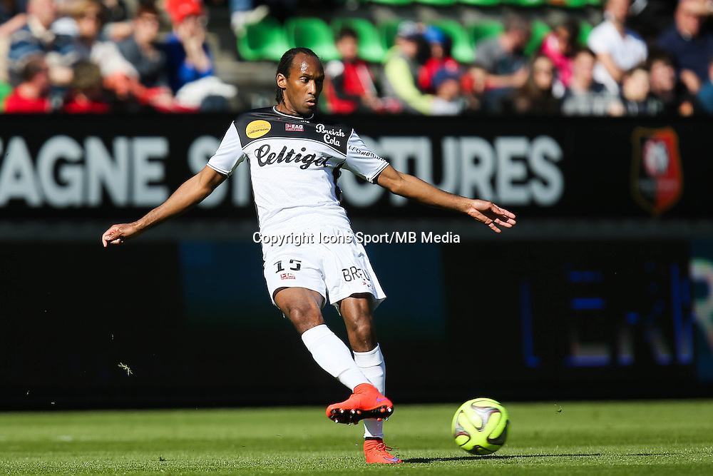 Jeremy SORBON - 12.04.2015 - Rennes / Guingamp - 32eme journee de Ligue 1 <br /> Photo : Vincent Michel / Icon Sport