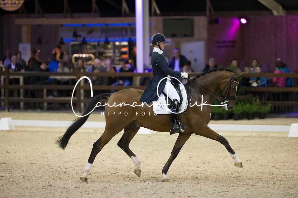 Lenaerts Joyce, (NED), Show Boy<br /> Int I Freestyle Test<br /> CDI 4* Azelhof Lier 2015<br /> © Hippo Foto - Leanjo de Koster